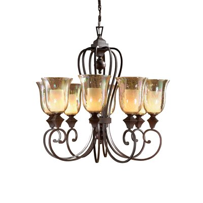 Uttermost Elba 8 Light Chandelier