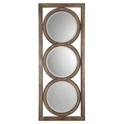 Uttermost Isandro Mirror in Silver Undertone
