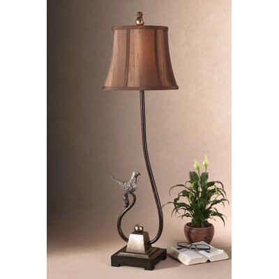 Uttermost Peaceful Bird Detailed Accent Table Lamp
