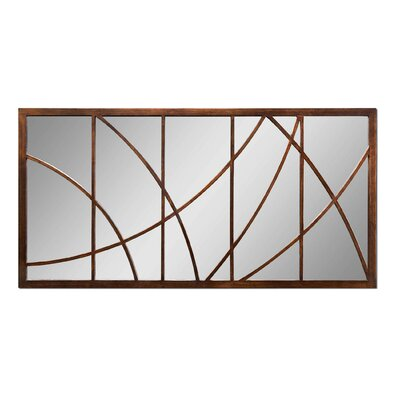 Uttermost Loudon Mirror in Distressed Bronze