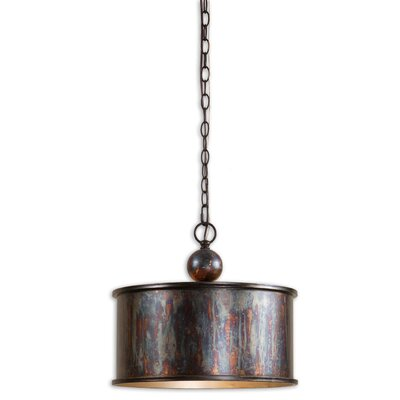 CK Generic 1 Light Albiano Drum Foyer Pendant
