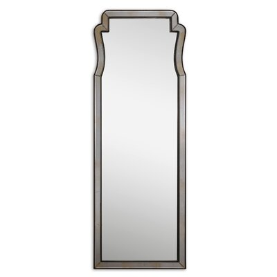 Belen Dressing Beveled Mirror in Dark Mocha