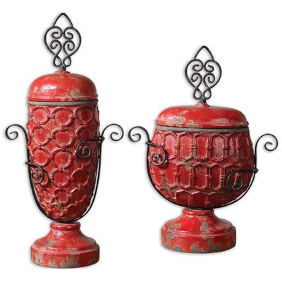 Uttermost Ancel Decorative Box (Set of 2)