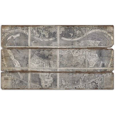 "Uttermost Map Of The City by Grace Feyock Wall Art- 27""x47"""