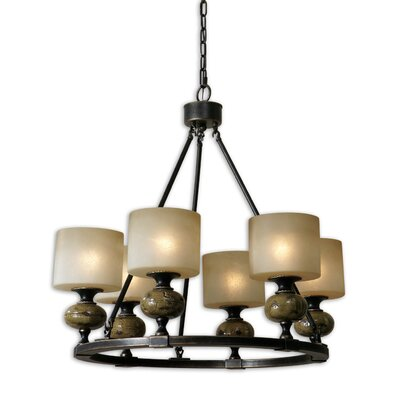 FW Generic Porano 6 Light Chandelier