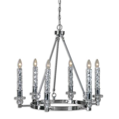 FW Generic Campania 6 Light Chandelier