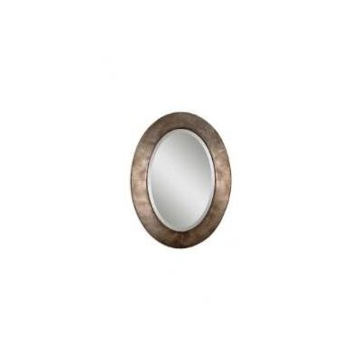Uttermost Kayenta Beveled Mirror in Antiqued Silver Champagne Leaf