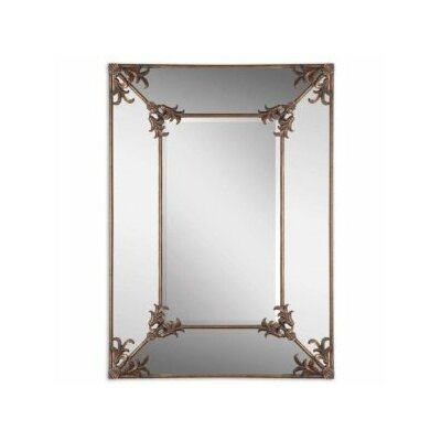 Uttermost Ansonia Mirror in Antiqued Gold