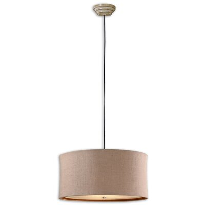 CK Generic 3 Light Alamo Drum Foyer Pendant