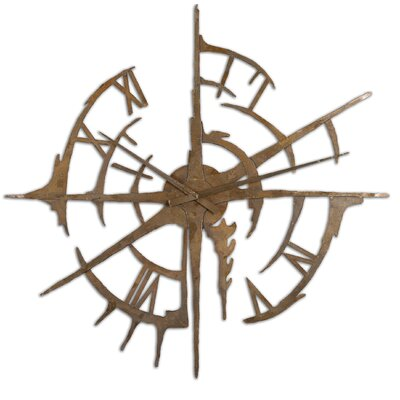 Uttermost Gallatin Metal Clock