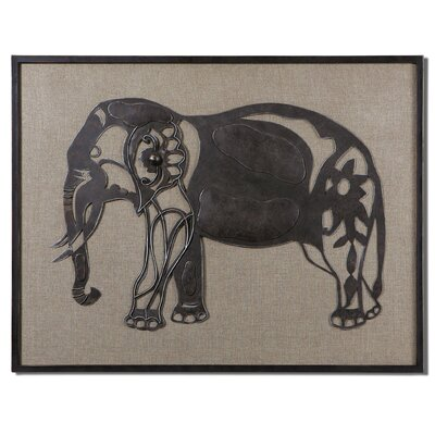 Kerala Elephant Wall Art