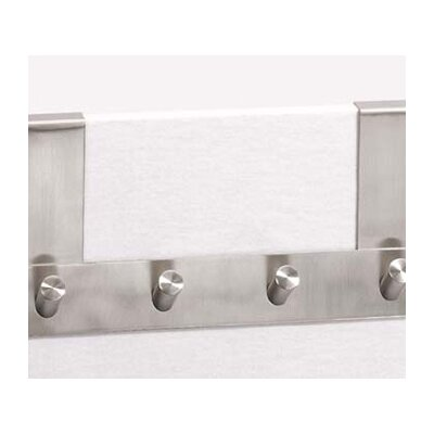 ZACK Bathroom Accessories Over-the-Door Exit Hook Rack
