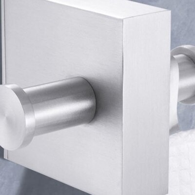 ZACK Wall Mounted Fresco Double Towel Hook