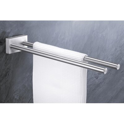 ZACK Fresco Towel Rail with Two Bars