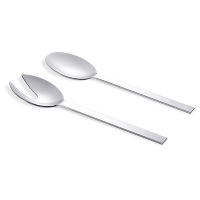 ZACK Pure 2 Piece Salad Server Set