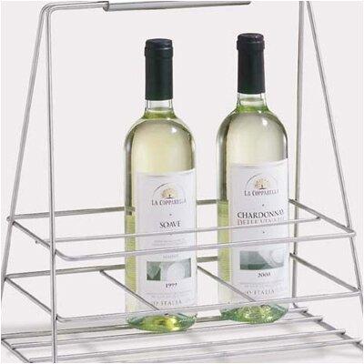 ZACK Bottiglia 6 Bottle Tabletop Wine Rack