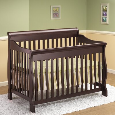 Sleigh 4-in-1 Convertible Crib
