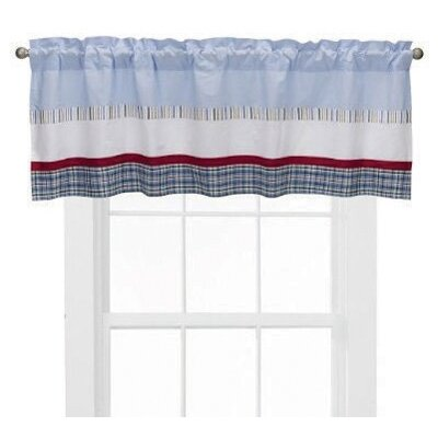 Bacati Boys Stripes and Plaids Valance