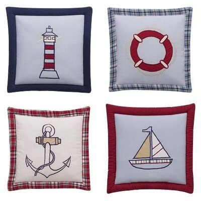 Bacati Boys Stripes and Plaids Hanging Art