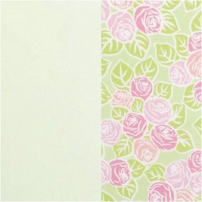 Bacati Flower Basket Crib Fitted Sheet (Set of 2)