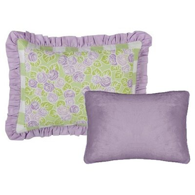 Bacati Flower Basket Decorative Pillow (Set of 2)