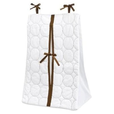 Bacati Quilted Circles Diaper Stacker