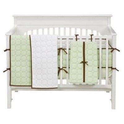 Bacati Quilted Circles 3 Piece Crib Bedding Collection