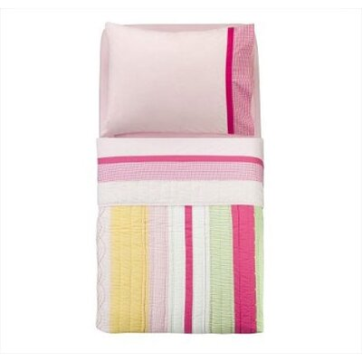 Bacati Girls Stripes and Plaids Toddler Bedding Collection