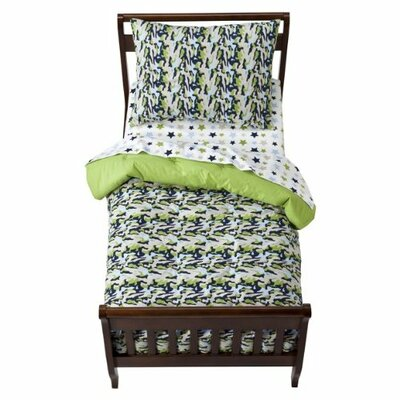 Bacati Camo Air Toddler Bedding Collection