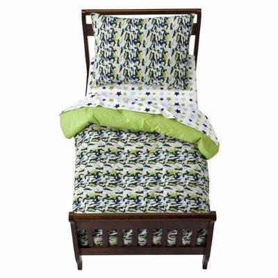 Bacati Camo Air Toddler Bedding Collection