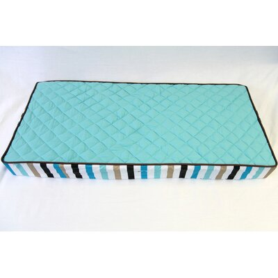 Bacati Mod Diamonds/Stripes Dots Changing Pad Cover