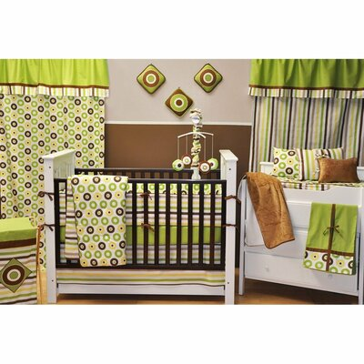 Mod Dots and Stripes Crib Bedding Collection