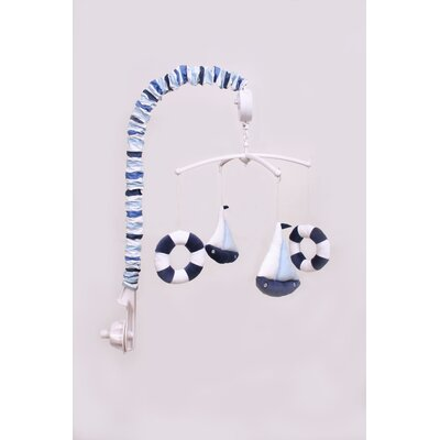 Bacati Little Sailor Musical Mobile