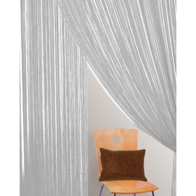 Bacati Bedding Rod Pocket String Curtain Single Panel