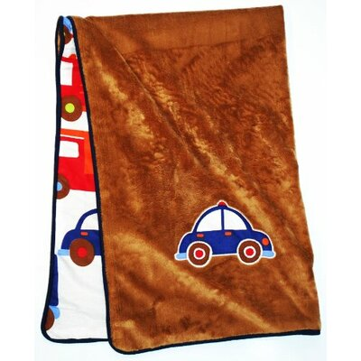 Bacati Transportation Blanket