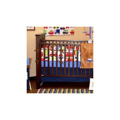 Bacati Transportation Crib Fitted Sheet