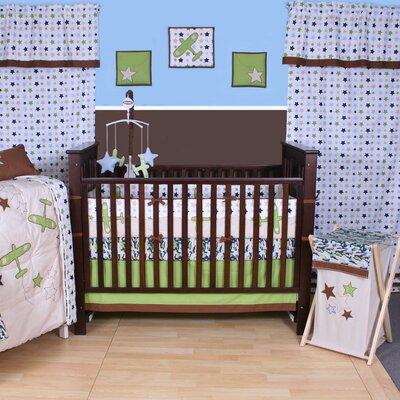 Bacati Camo Air Crib Bedding Collection