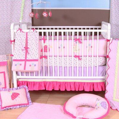 Bacati Fairyland Crib Bedding Collection