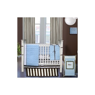 Quilted Circles 3 Piece Crib Bedding Collection