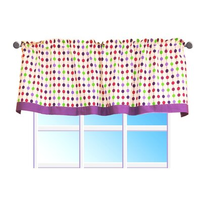 Bacati Botanical Sanctuary Cotton Curtain Valance