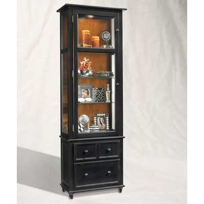 Philip Reinisch Co. ColorTime Vista Curio Cabinet