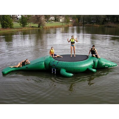 Island Hopper Gator Bounce and Slide Water Park