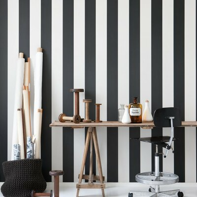 ferm LIVING Very Special Vertigo Stripes Wallpaper