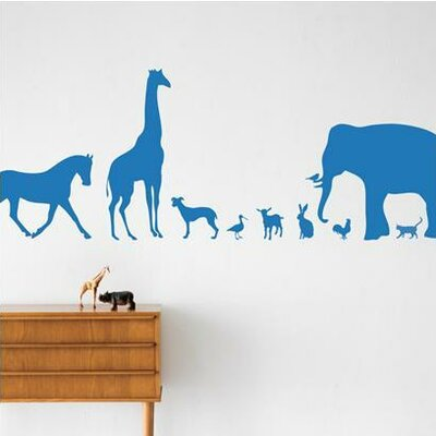 ferm LIVING KIDS Animal Farm Wall Decal