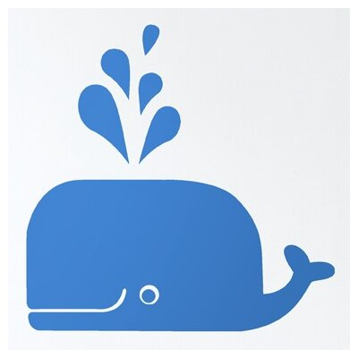 ferm LIVING Whale Wall Decal