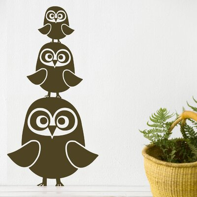 ferm LIVING Three Owls Wall Decal