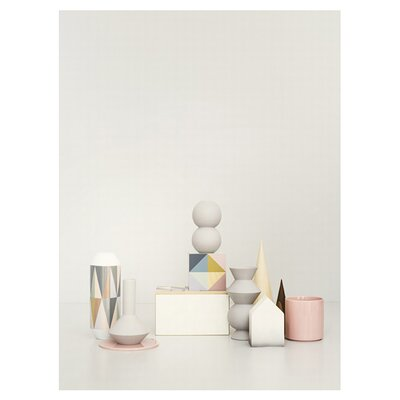 ferm LIVING Geometry Vase 1