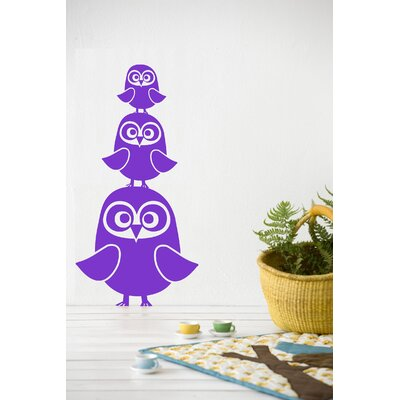 ferm LIVING Three Owls Wallsticker