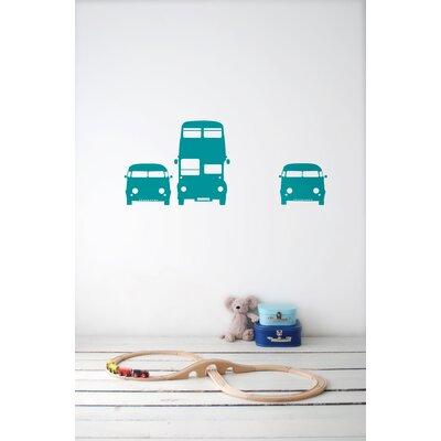 ferm LIVING Rush Hour Kids Wall Sticker