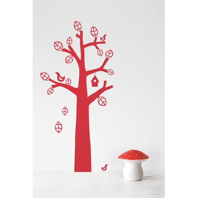 KIDS Bird Tree Wall Decal